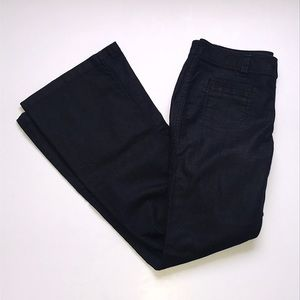CAbi Farrah Dark Denim Wide Leg Jeans Size 6